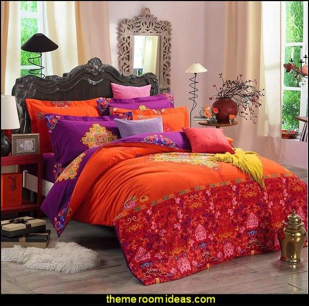 Boho Style Bedding Set - Boho Duvet Cover Set - Bohemian ...