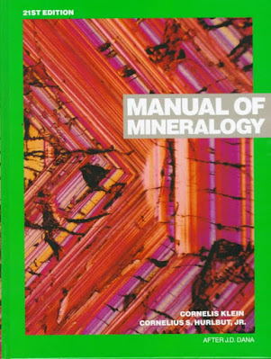 Manual of Mineralogy by Cornelis Klein