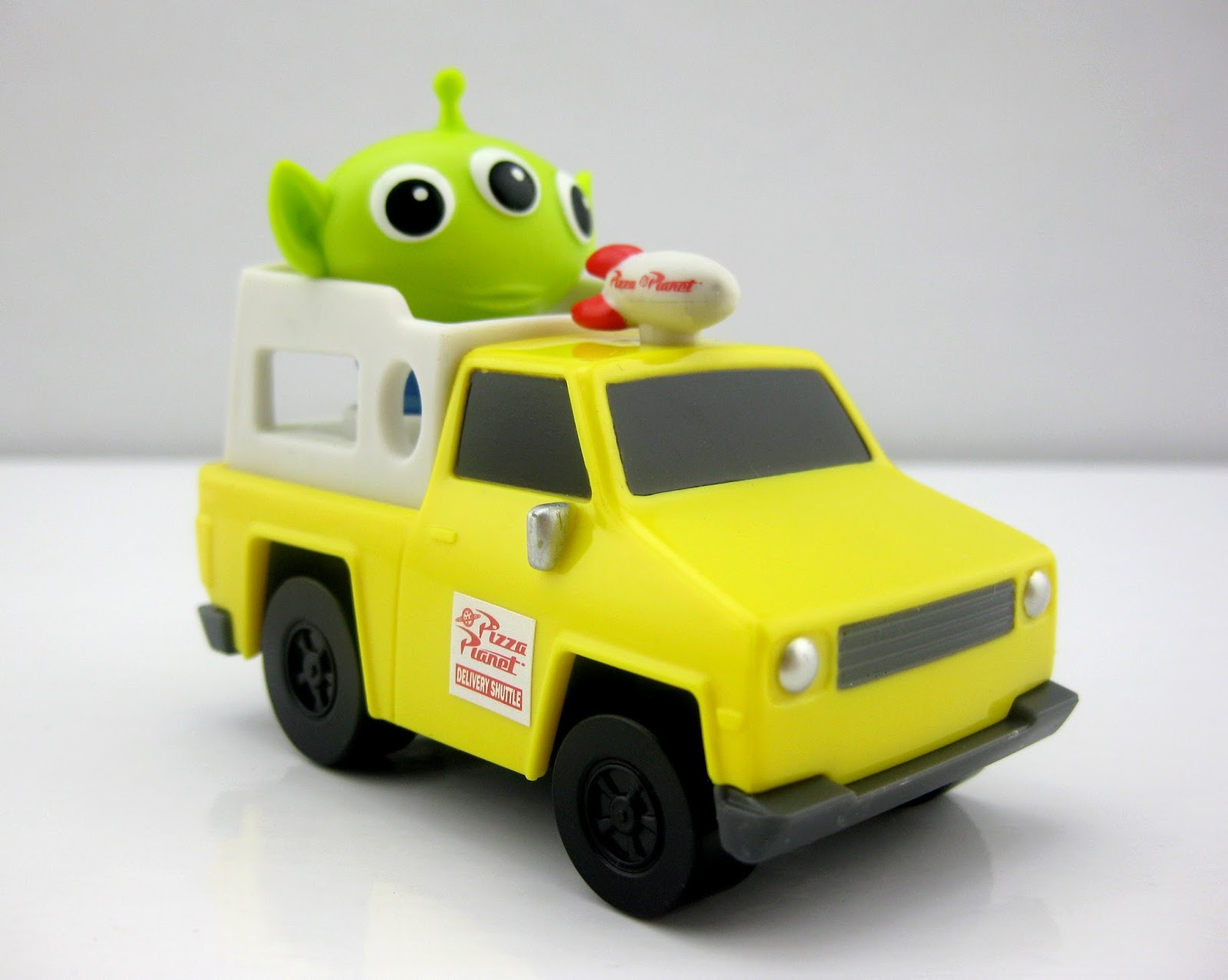 mattel toy story minis vehicles pizza planet truck alien