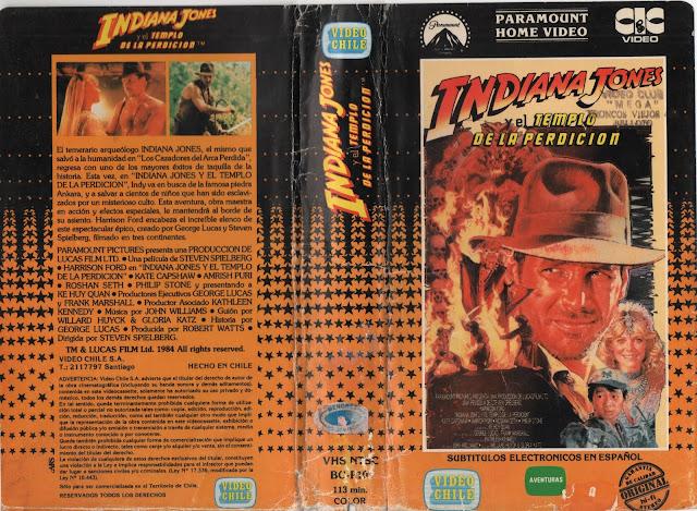 """Pelicula: """"Indiana Jones y el Templo de la Perdicion"""" - 1984"""