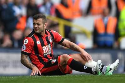 Kane DID NOT break Wilshere's leg