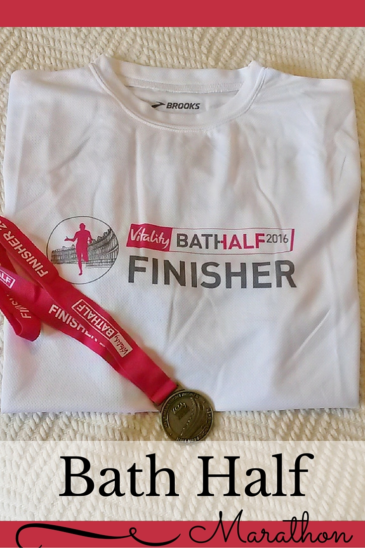 Running the Bath Half Marathon - Race Review on Ginevrella