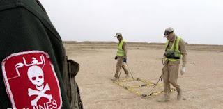 العراق يعلن تطهير 3 مليارات متر مربع من التلوث الحربي