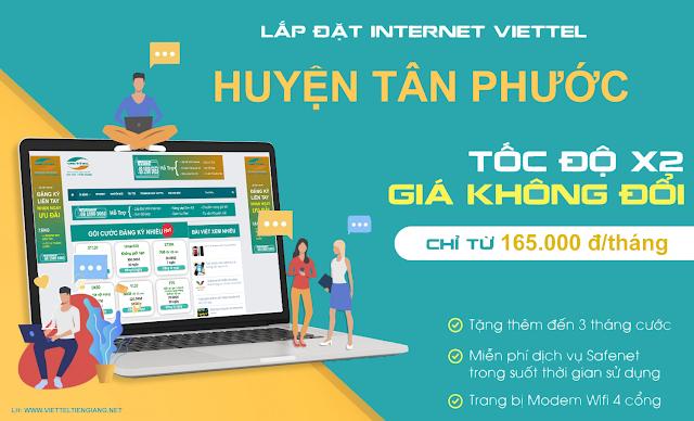 Lắp Đặt Internet Cáp Quang Tân Phước Tiền Giang