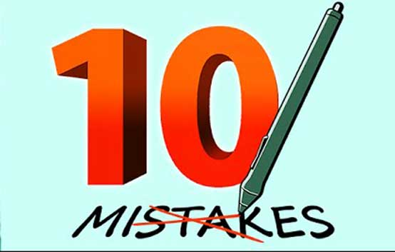 10 Biggest Mistakes New Entrepreneurs Make That Must Be Avoided