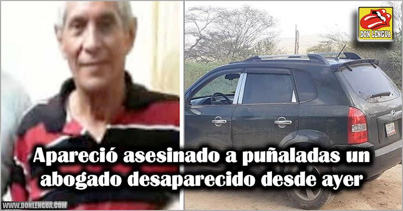 Apareció asesinado a puñaladas un abogado desaparecido desde ayer