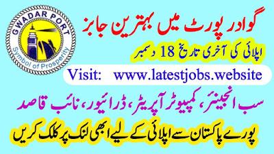 Gwadar Port Authority Vacancies 2019