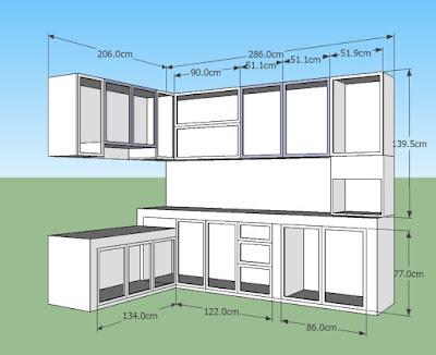 Tips penting perencanaan pembuatan kitchen set