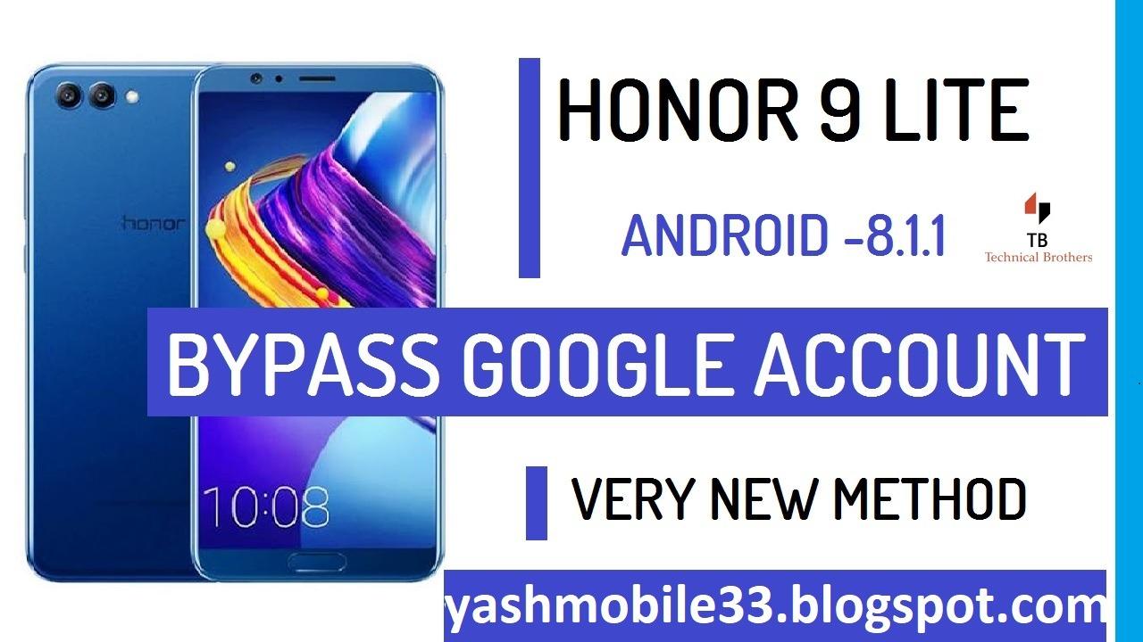 Honor 9 lite frp unlock latest