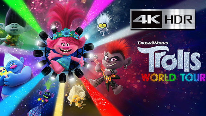 Trolls World Tour (2020) 4K UHD [HDR] Latino-Ingles