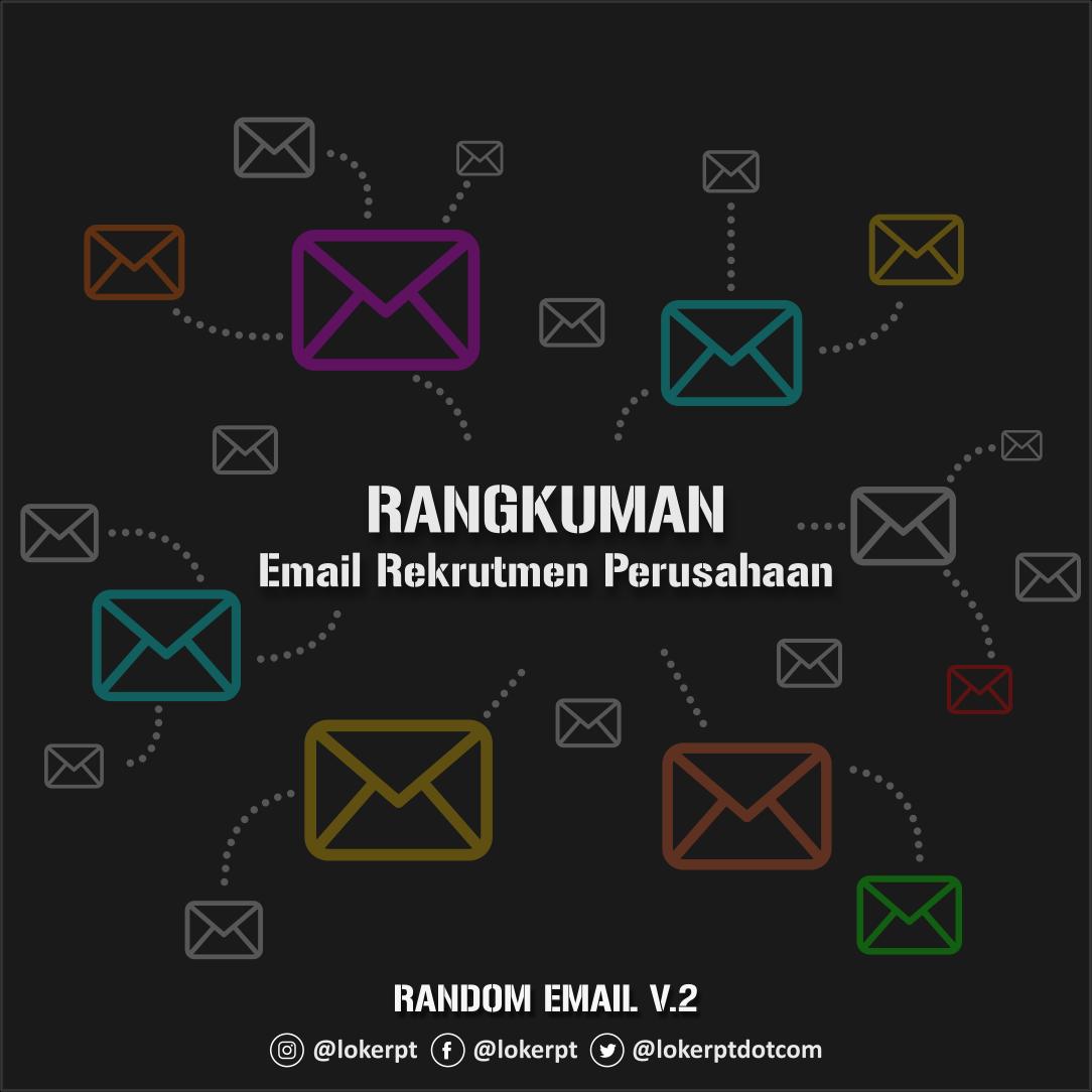 Alamat Email Aktif Perusahaan Random Email Terbaru 2021
