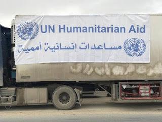 الأمم المتحدة: زيادة المساعدات الإنسانية إلى الداخل السوري بنسبة 40%