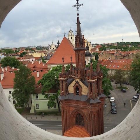 Bernardinų bažnyčios varpinės bokštas