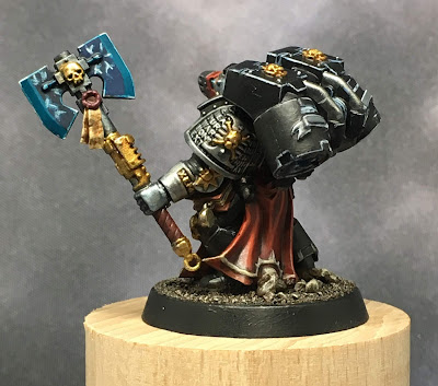 Deathwatch Librarian with Jump Pack left side