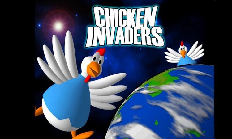 تحميل لعبة chicken invaders
