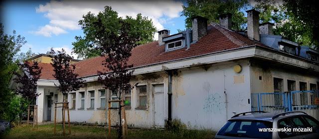 Warszawa Warsaw przedszkole Sielce opuszczone zniszczone architektura
