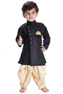 Adorable Kid's Boy's Sherwani Set