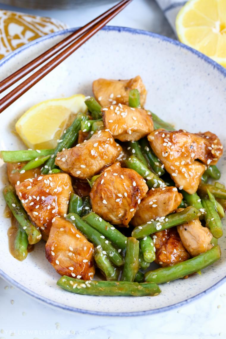 Hоnеу Lеmоn Chicken аnd Green Beans
