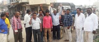 Jaunpur News : ट्रैक्टर से सीमेंट ढुलाई पर ट्रक यूनियन ने जताया विरोध