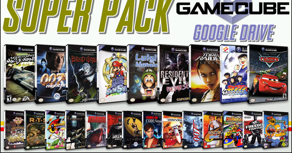 Wii Mod Brasil Super Pack Jogos De Game Cube Via Google Drive