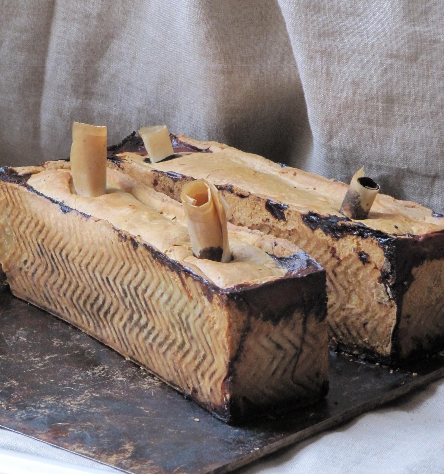 la cuisine d ici et d isca p 226 t 233 en cro 251 te aux foies de volaille
