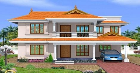 Desain Atap Rumah Minimalis Piramid