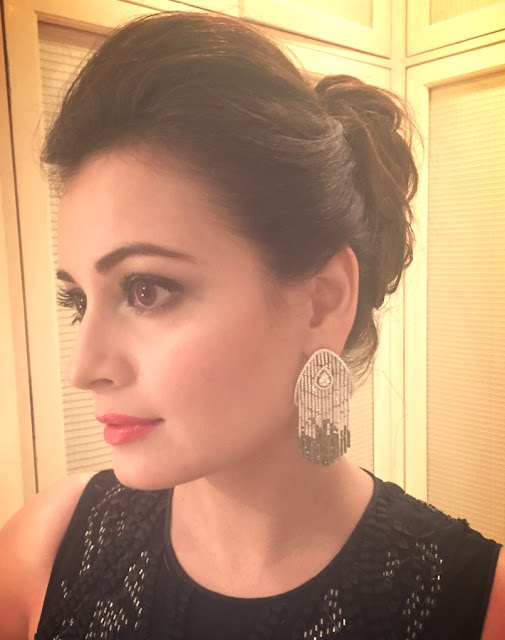 Celebrity Spotting: Dia Mirza in Aurelle by Leshna Shah