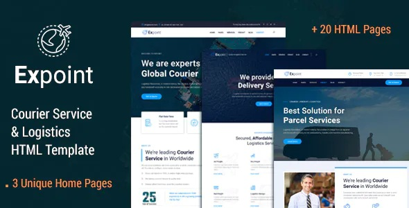 Best Delivery Services and Logistics HTML Template