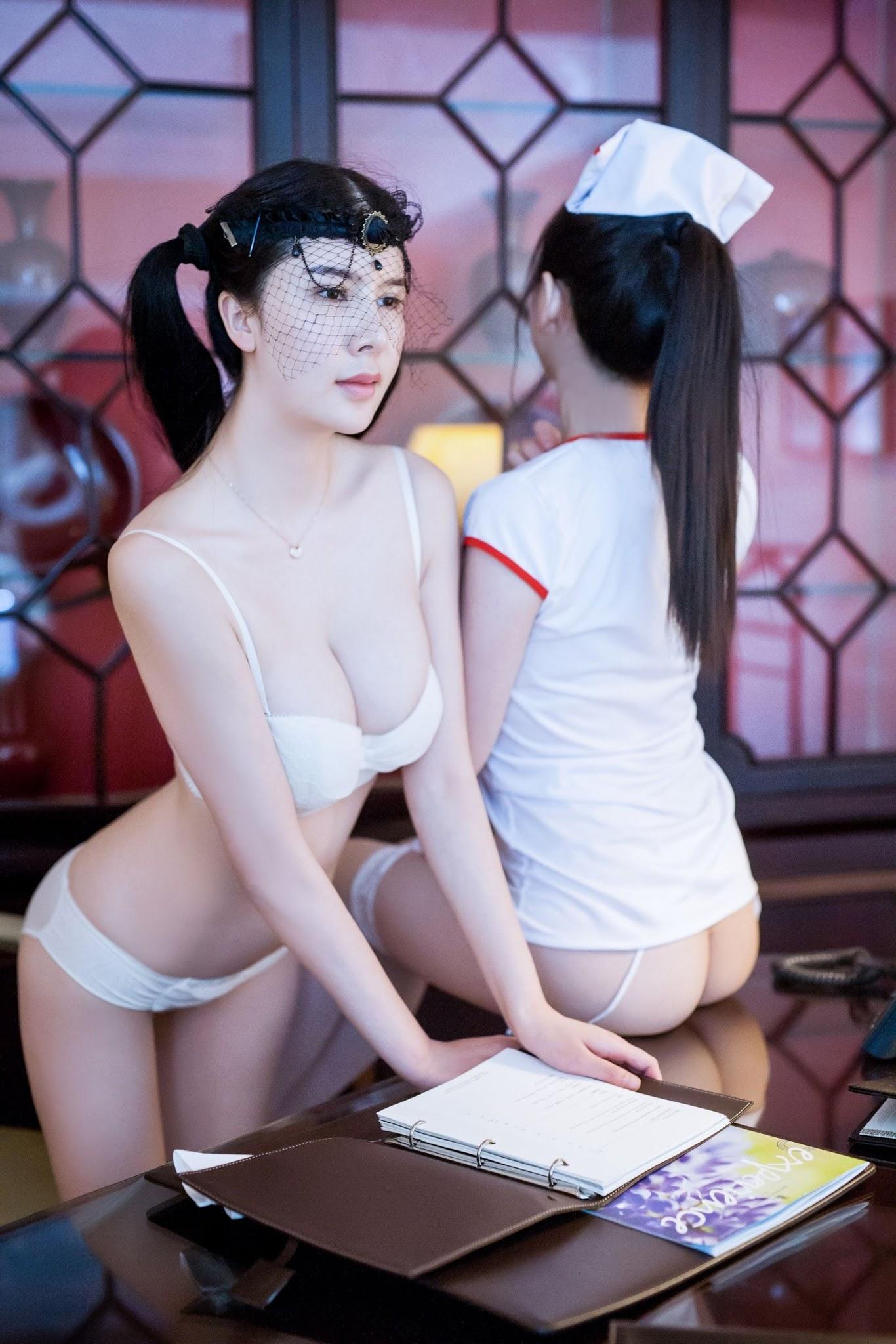 Li Lisha (李丽莎me) Sexy Chinese Female Soldier Ero-Cosplay