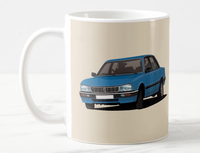 Peugeot 505 GTi - coffee mugs