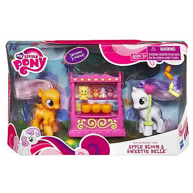 My Little Pony Fun At The Fair Scootaloo Brushable