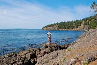 Wayne Dunlap Whale Watch Park San Juan Island Washington