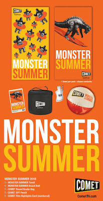 GIVEAWAY: COMET TV Monster Summer Giveaway! Godzilla, Rodan and Giant Gila Monsters