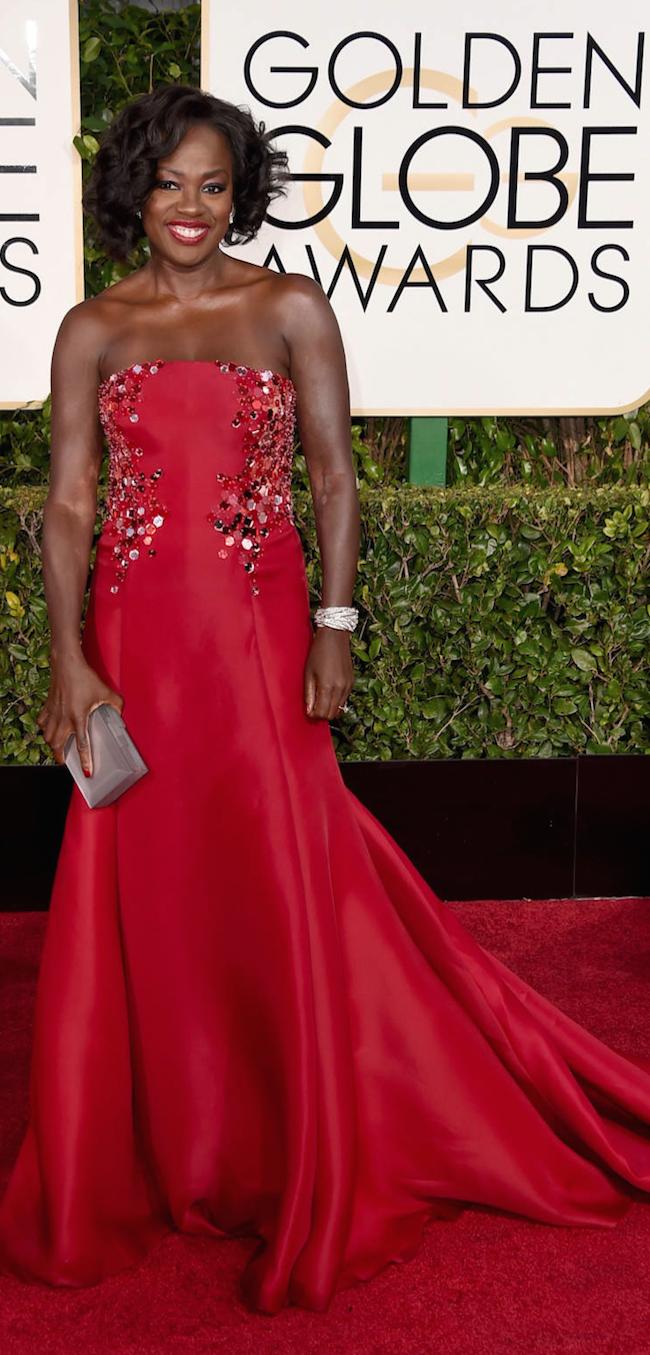 Viola Davis 2015 Golden Globe Awards