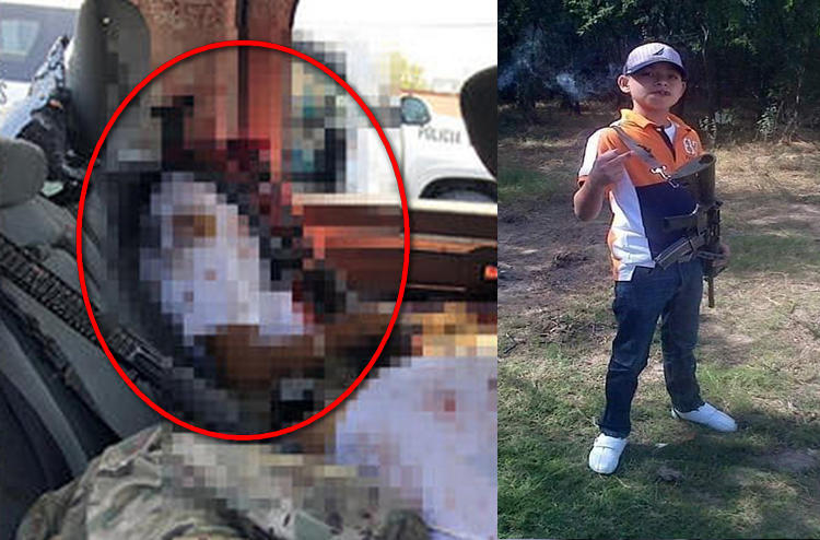 """""""Juanito pistola"""", el sicario 16 años de """"La Tropa del Infierno"""" del CDN al que le explotaron la cabeza a tiros durante el topon en Nuevo Laredo"""