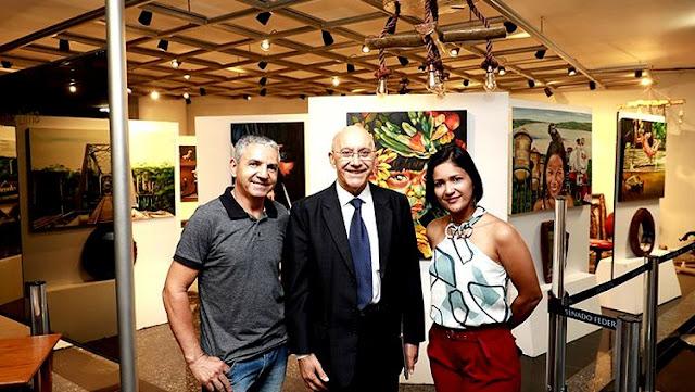 """HISTÓRIA: Senado Federal recebe a exposição """"Arte e Cultura de Rondônia"""""""