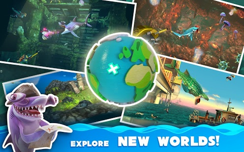 Hungry Shark World Mod Apk Data