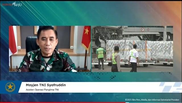 TNI Siapkan Tiga Strategi Dukung Pemerintah Sukseskan Program Vaksinasi Nasional