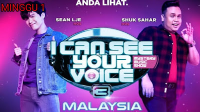 Live Streaming I Can See Your Voice Malaysia 2020 Minggu 1