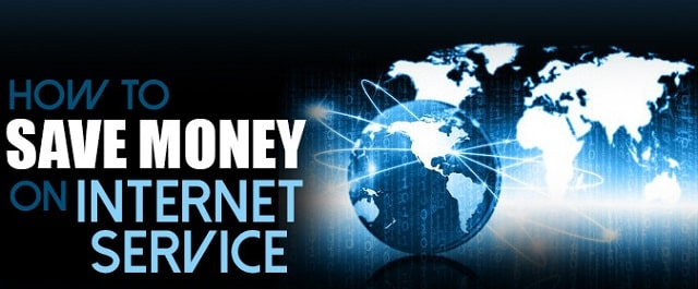 how to save money on internet service