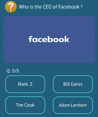 Who is the CEO of Facebook?