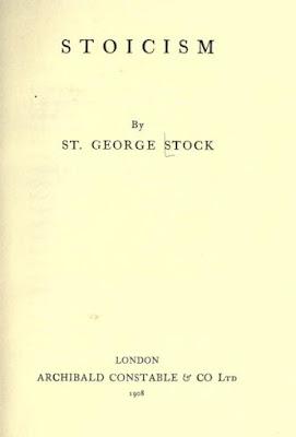 Stoicism by St. George William Joseph  Stock