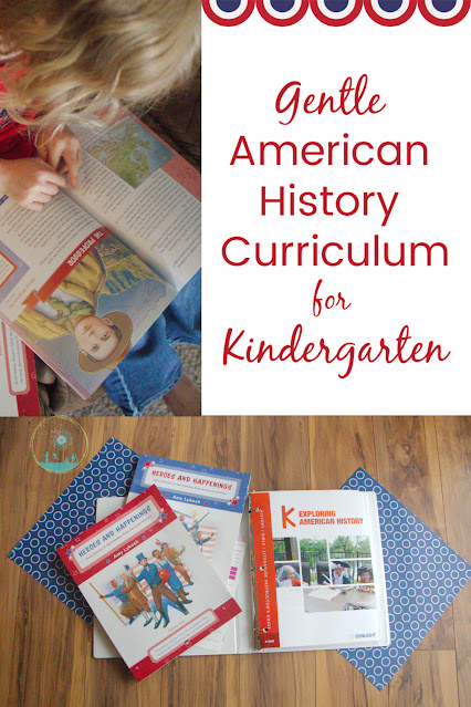 You can Teach American History in Kindergarten with Sonlight