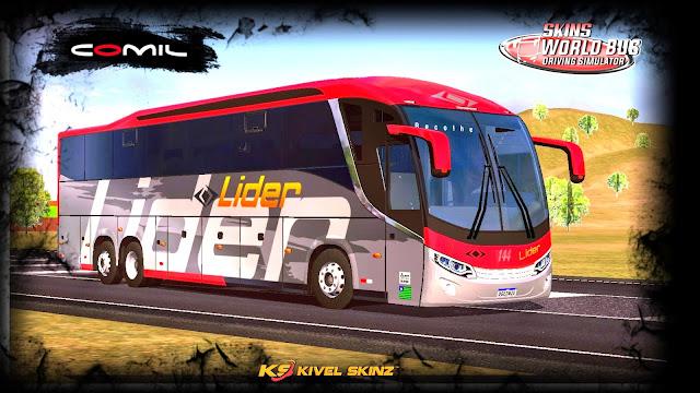 COMIL 1200 6X2 - VIAÇÃO LÍDER