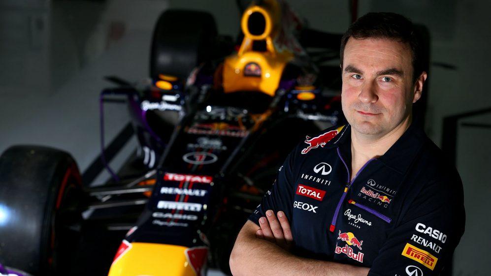 Fallows tornou-se Chefe de Aerodinâmica da Red Bull em 2014