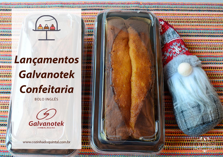 Lançamentos Galvanotek para Confeitaria na Cozinha do Quintal