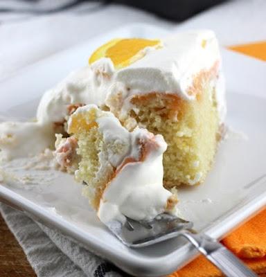 Fresh Orange Cake #dessert