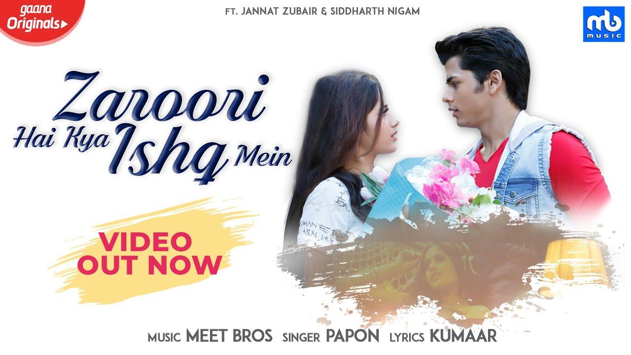 Zaroori Hai Kya Ishq Mein Lyrics,  Meet Bros