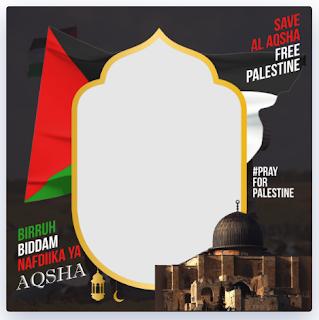 Twibbon Untuk Palestina 2021