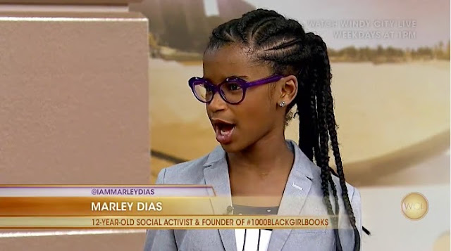 Awesome Award: Marley Dias is a 12-year-old who began 1000 Black Girl Books